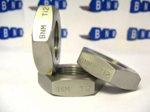 M27x2 Hex Lock Nut Titanium Ti 2