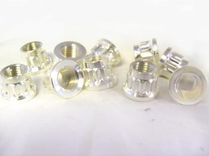A286 660B BI HEX NUT SILVER PLATED