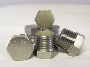 32760 F55 1.4501 0.500 NPT HEX HEAD PLUG [stainless steel]